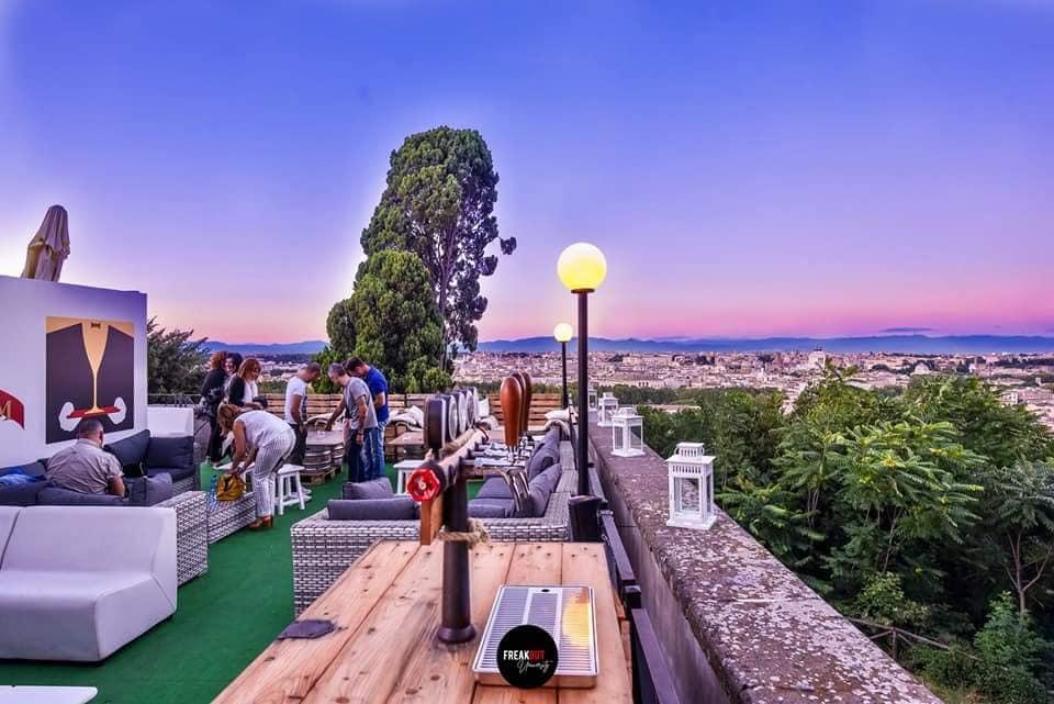 Terrazza del Gianicolo Roma Aperitivo discoteca 1