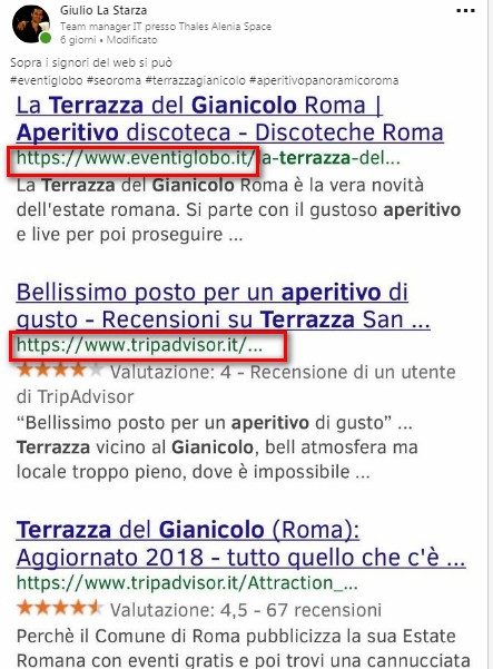 SEO specialist Roma Nord