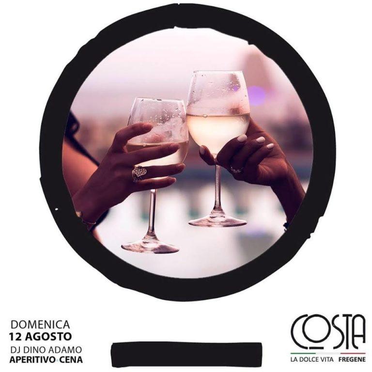 La Perla Costa Club Fregene Aperitivo e Disco domenica 12 agosto 2018