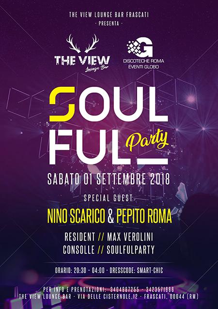 Soulful Party Roma: Dj Nino Scarico at The View - Vista panoramica