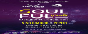 Soulful Party sabato 1 settembre 2018 THE VIEW