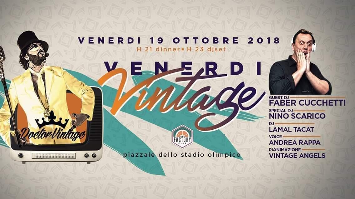 Factory Club Discoteca Roma Venerdì 19 ottobre 2018
