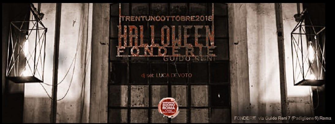 Halloween Party Dimensione Suono Roma @ Fonderie Guido Reni