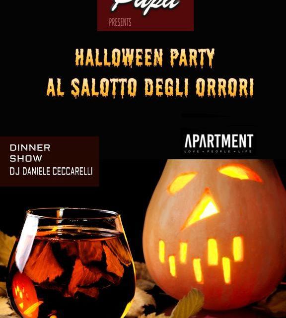 Il salotto degli orrori Halloween @ The Apartment Roma