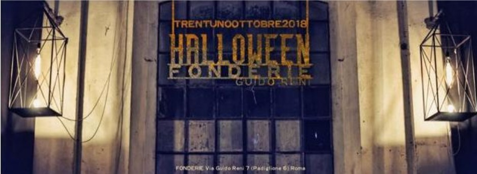 fonderie guido reni halloween party