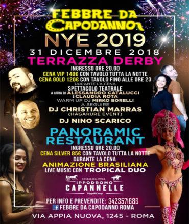 Febbre da Capodanno 2019 | Ippodromo Capannelle Roma