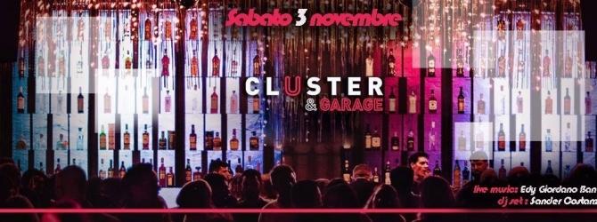 Discoteca Cluster Roma sabato 3 novembre 2018