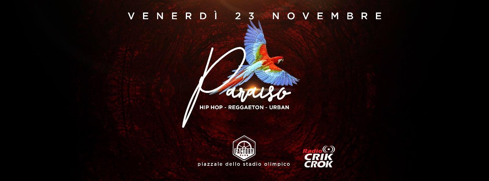 Factory Roma Aperitiv Hip Hop