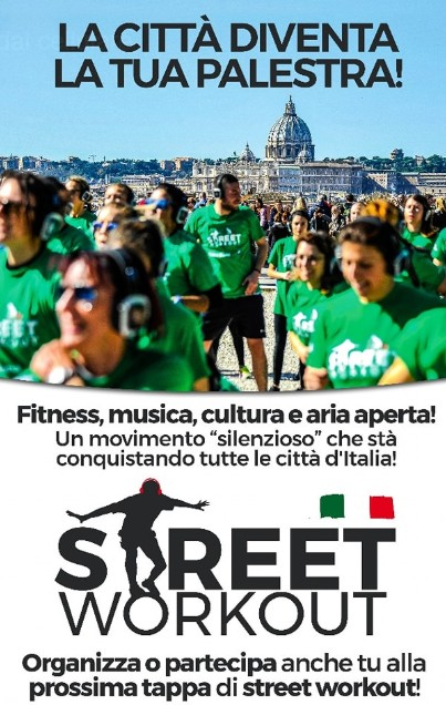 Street Workout Roma 16 Dicembre 2018 Christmas in Green 2