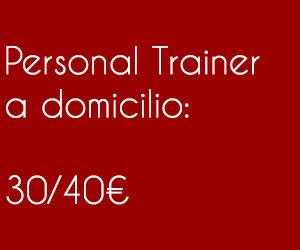 prezzi personal trainer a domicilio