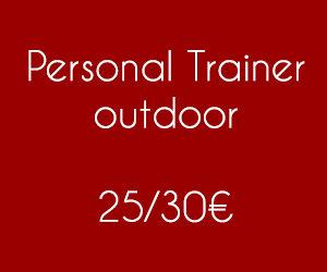 prezzi personal trainer outdoor roma