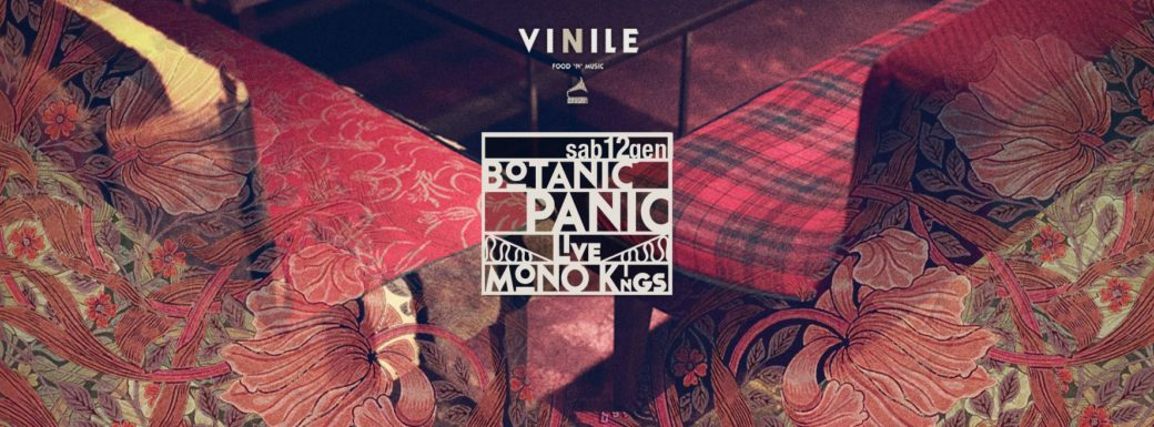 Vinile sabato 12gennaio 2019 Aperitivo Discoteca PANIC BOTANIC