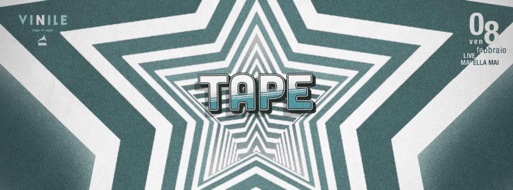 Vinile Venerdì 8 Febbraio 2019 Aperitivo e Discoteca TAPE 90