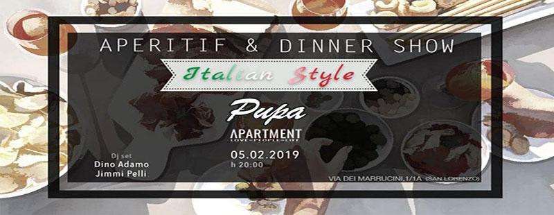 The Apartment Aperitivo San Lorenzo martedì 5 febbraio 2019