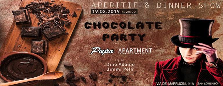 The Apartment mercoledì 19 febbraio 2019 CHOCOLATE PARTY