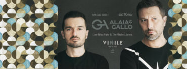 Vinile Sabato 16 marzo 2019 BOTANIC PANIC Dino Adamo + Alaia&Gallo