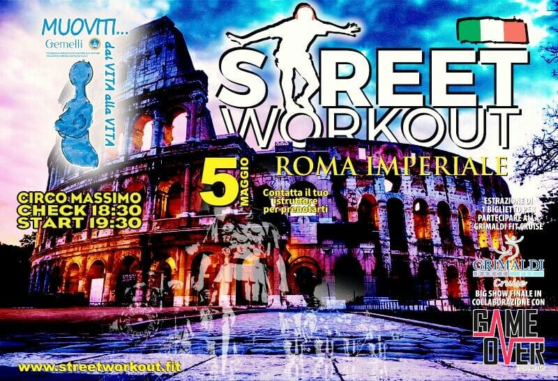 street workout Roma Imperiale