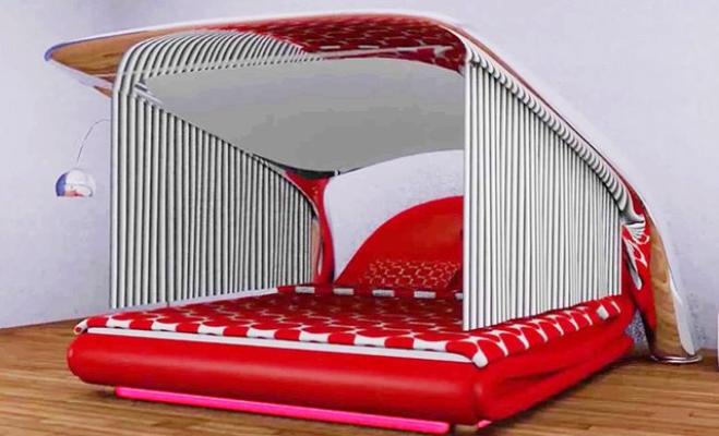 1556614121797.jpeg ecco il letto che si trasforma in un cinema privato