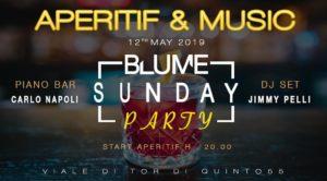 Blume Lounge domenica 12 Maggio: L'aperitivo di Roma Nord