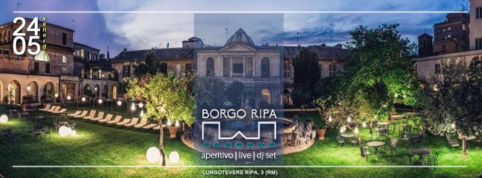 Locale Borgo Ripa Roma Aperitivo Live Dj Set | Prenota ora