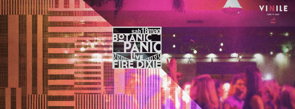 botanic panic discoteca vinile sabato roma sabato