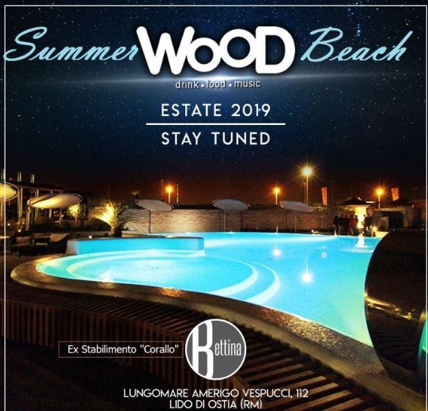 Summer Wood Beach Ostia