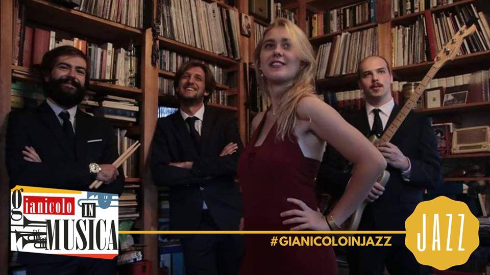 Beatrice Gatto & Beat4tet   Gianicolo in Jazz lunedì 1 Luglio 2019