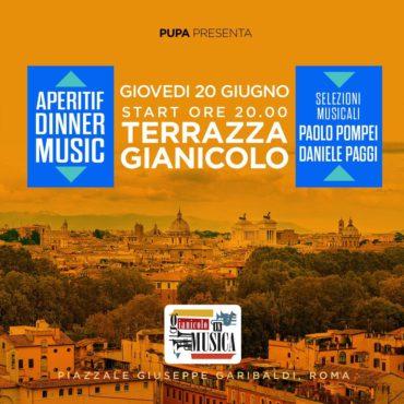 Discoteca Gianicolo giovedì 20 Giugno Pupa Aperitiv&Party