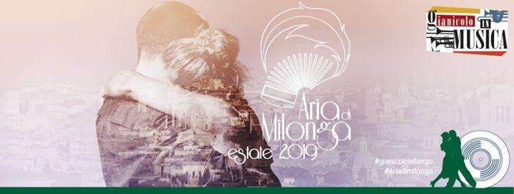 Gianicolo in Tango domenica 15 Giugno 2019