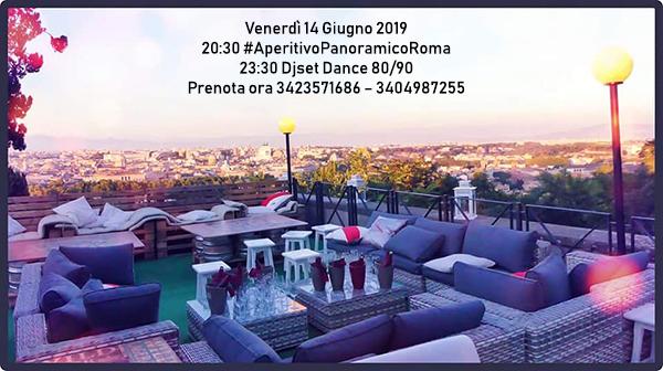 Terrazza Gianicolo venerdì 14 Giugno