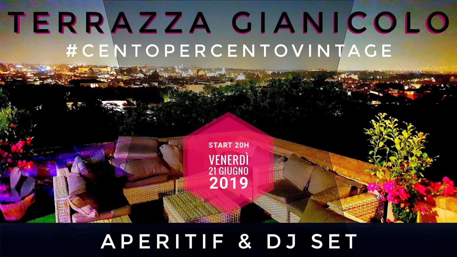 Discoteca Gianicolo Venerdì 21 Aperitivo In Terrazza Al Tramonto Djset 90