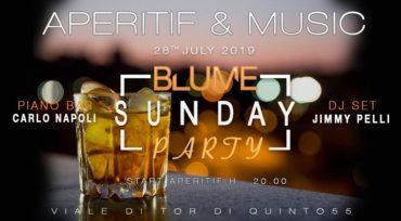 Blume Aperitivo domenica 28 luglio 2019 Live + Djset @ Ponte Milvio