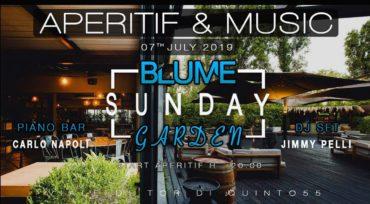 Blume Aperitivo domenica 7 luglio 2019