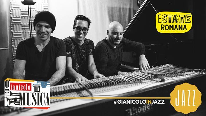 Claudio Filippini Trio | Gianicolo in Jazz lunedì 8 Luglio 2019