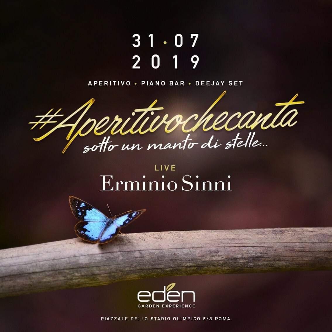 EDEN Aperitivo mercoledì 31 luglio 2019 Il bosco di Roma nord