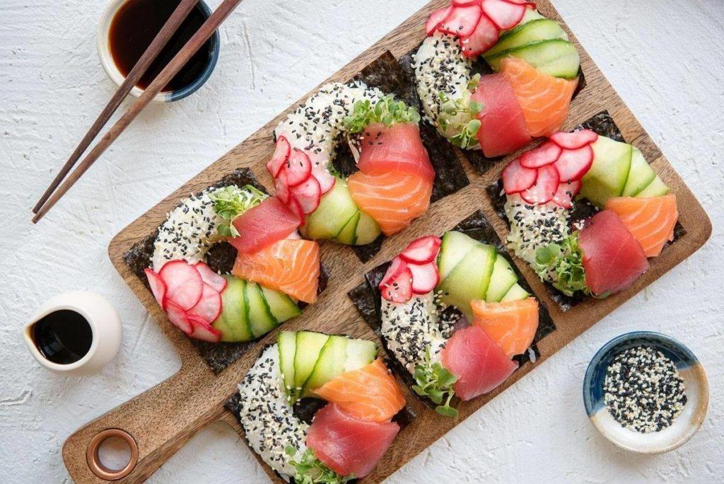 Ex Forlanini sushi