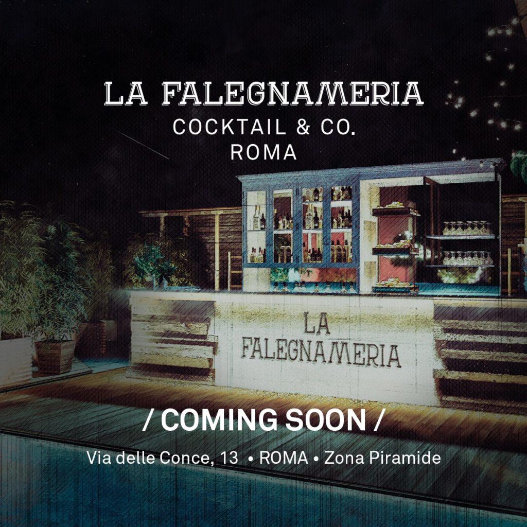 La Falegnameria Cocktail | Aperitiv Cocktail Bar | Testaccio Roma