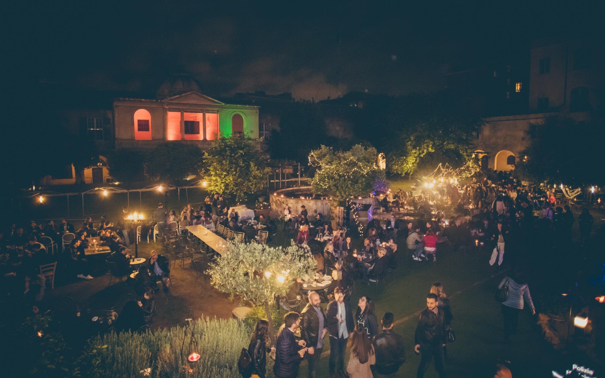 Borgo Ripa Aperitivo Djset in villa Barocca Trastevere
