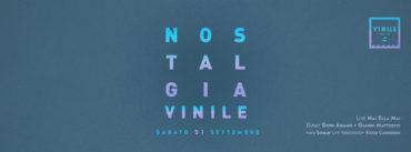 Discoteca Vinile sabato 21 settembre 2019 Inaugurazione 2019 2020