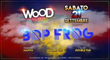 Wood Roma sabato 21 settembre 2019 Aperitivo Cena Discoteca
