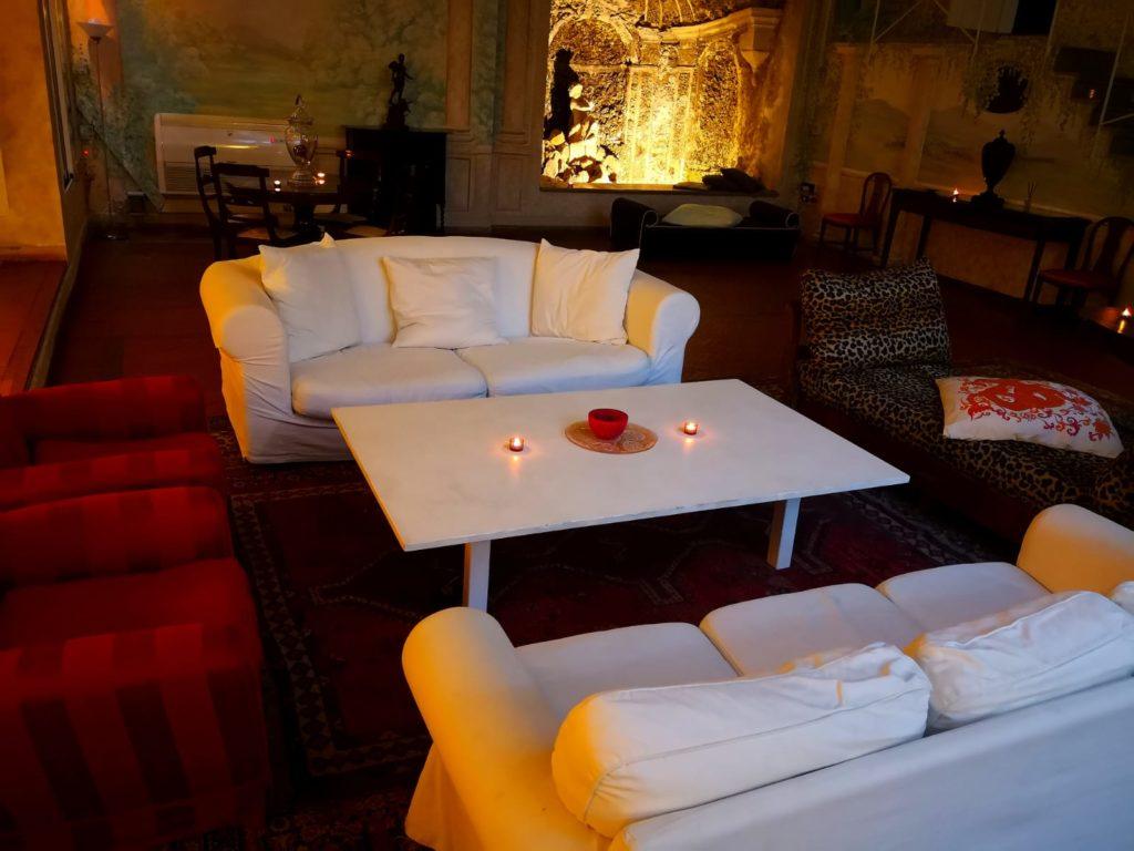festa privata in villa roma