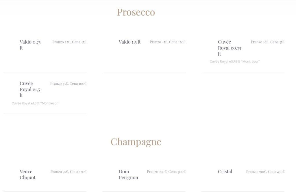 prosecco champagne exe discoteca roma