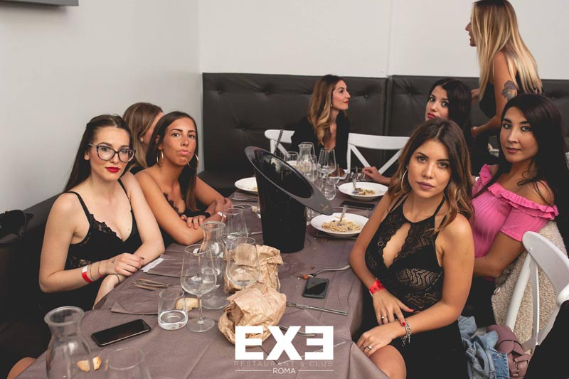 Discoteca exe roma eur