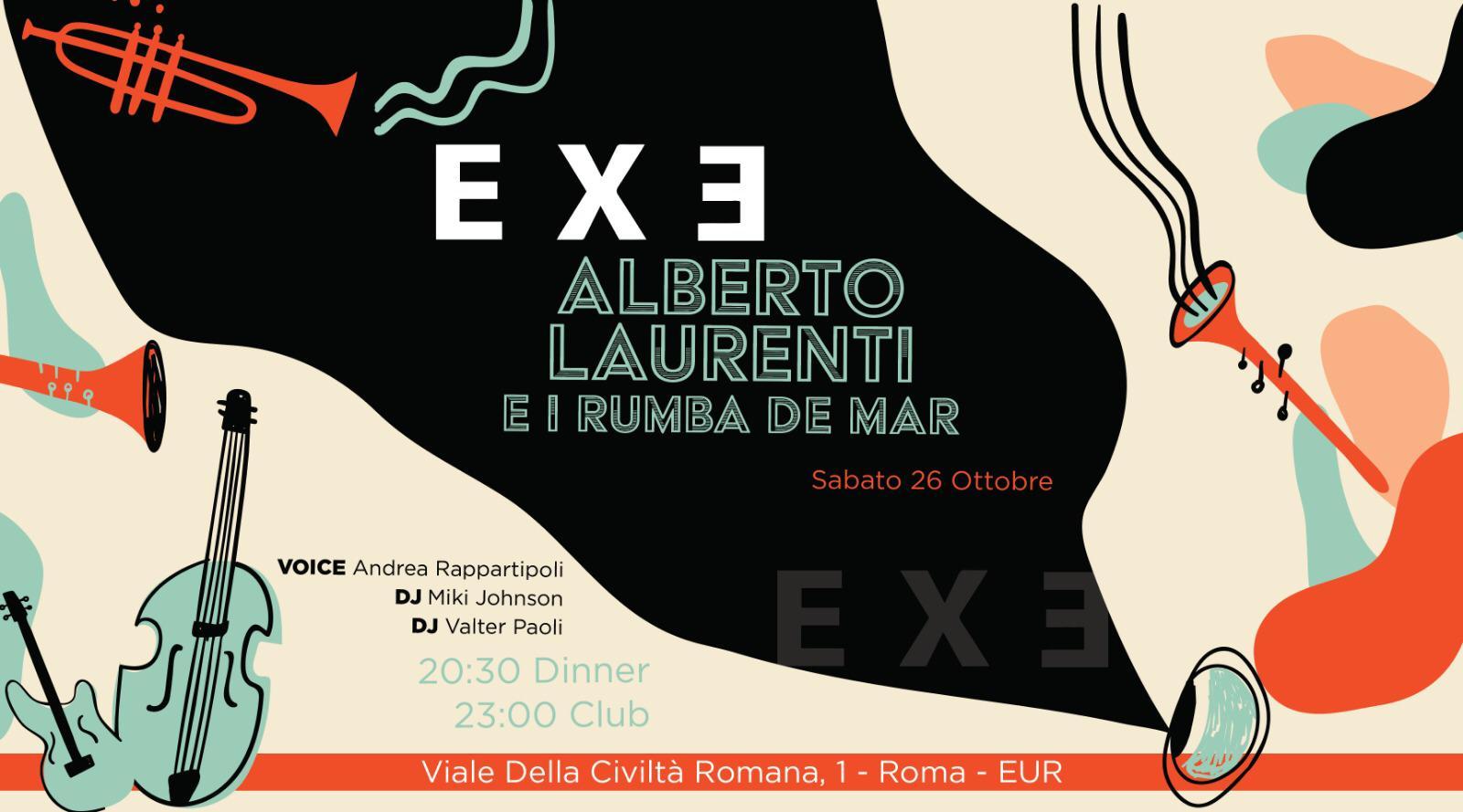 Discoteca Exe sabato 26 ottobre 2019 Aperitivo Cena Eur