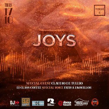 Vinile Roma giovedì 17 ottobre 2019 JOYS Aperitivo Discoteca