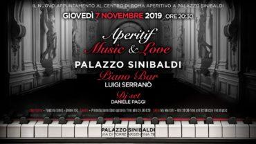 Aperitivo al Palazzo Sinibaldi giovedì 7 novembre 2019