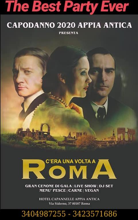 CAPODANNO VILLA APPIA ROMA