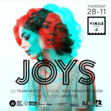 Vinile Giovedì 28 novembre 2019 JOYS Aperitivo Discoteca Roma