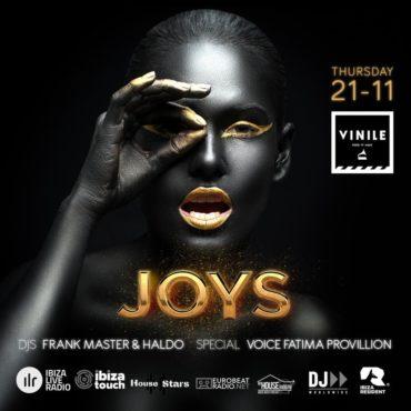 Vinile Giovedì 21 novembre 2019 JOYS Aperitivo Discoteca Roma