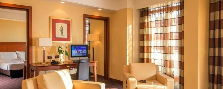 capodanno hotel capannelle Roma struttura 1